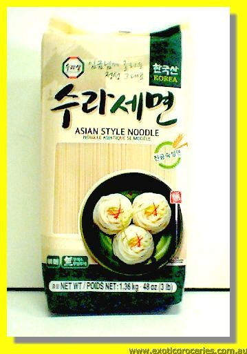 Asian Style Noodle Fine Noodle (Green)