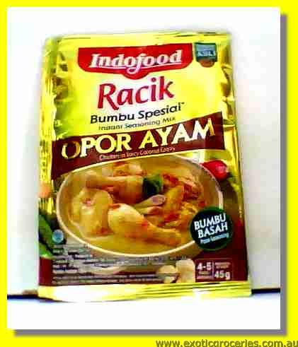 Chicken In Coconut Gravy Opor Ayam
