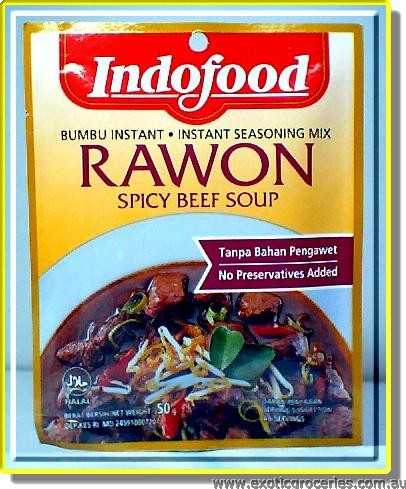 Spicy Beef Soup(Rawon)