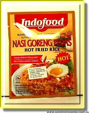 Hot Fried Rice Nasi Goreng Pedas