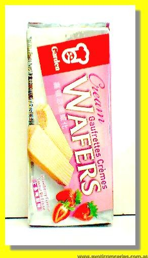 Strawberry Flavour Wafers