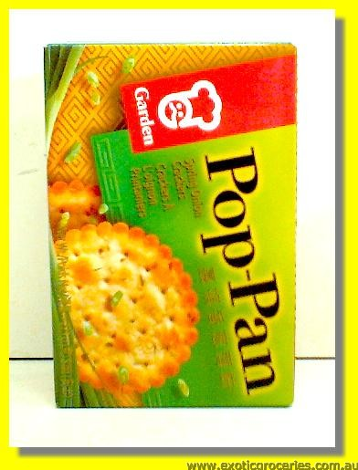 POP-PAN Chinese Savoury Crackers Chives