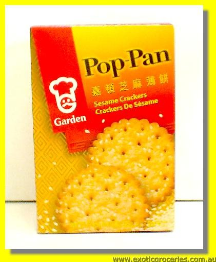 Pop Pan Crackers Sesame