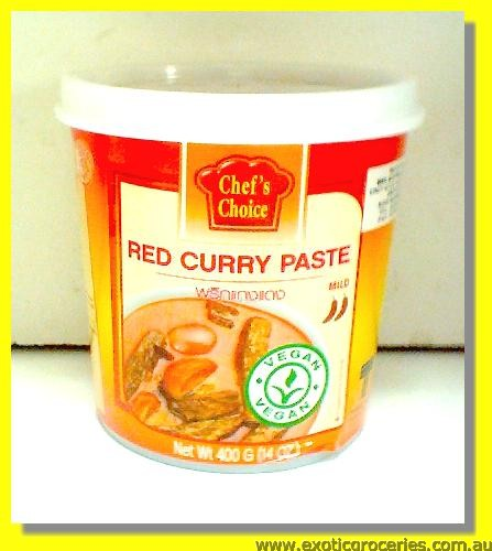 Vegan Red Curry Paste