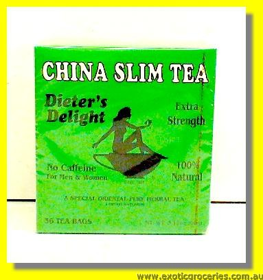 China Slim Tea Extra Strength 36's