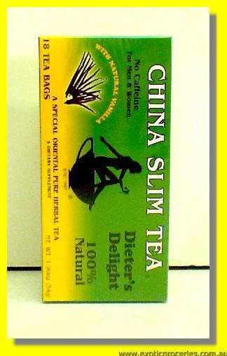 Dieter's Delight Slim Tea with Natural Vanilla 18teabags