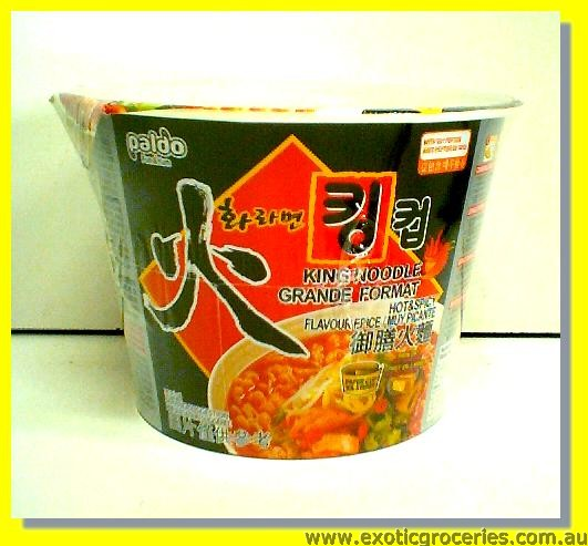 King Noodle Hot & Spicy Flavour
