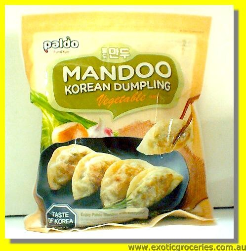 Frozen Korean Dumpling Vegetable Mandoo