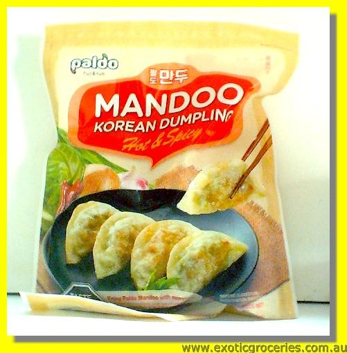Frozen Korean Dumpling Hot & Spicy Mandoo