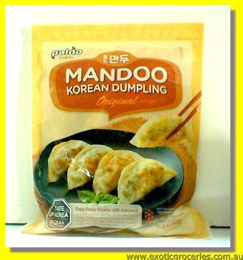 Frozen Korean Dumpling Original Mandoo