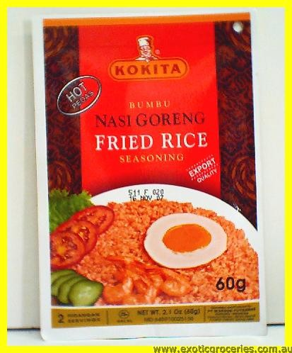 Fried Rice Nasi Goreng Hot Pedas Seasoning