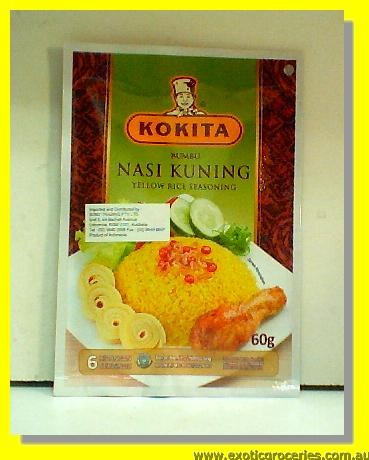 Nasi Kunning Yellow Rice Seasoning