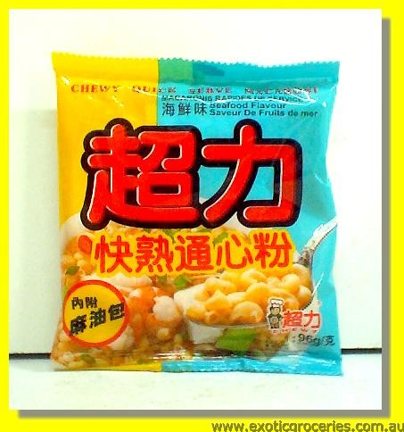 Chewy Quick Serve Macaroni Seafood Flavour