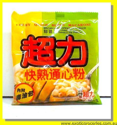 Chewy Quick Serve Macaroni Chicken Flavor