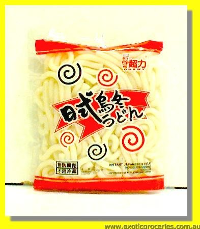 Instant Japanese Style Udon Noodle