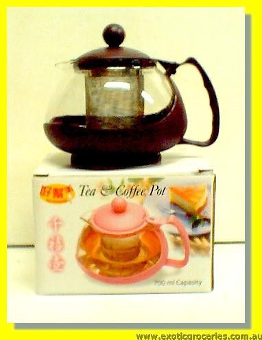 Tea & Coffee Pot (with Strainer)