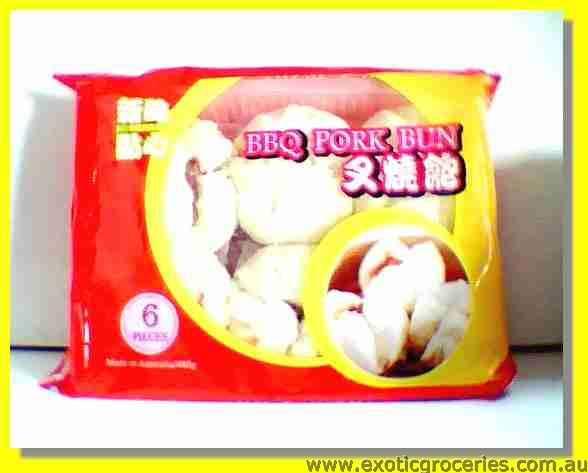 Frozen BBQ Pork Bun 6pcs