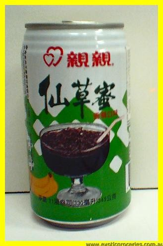 Grass Jelly Drink - Banana Flavour