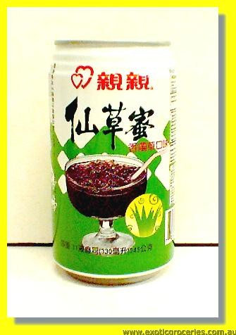 Grass Jelly Drink Pandan Leaves Flavour