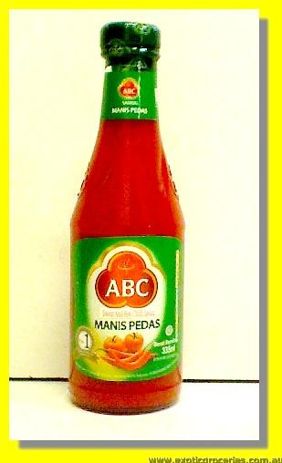 Hot & Sweet Chilli Sauce Sambal Manis Pedas