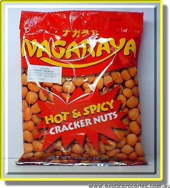 Cracker Nuts (Hot and Spicy Flavor)