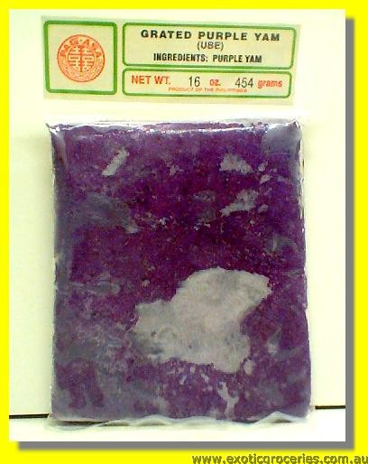 Frozen Grated Yam Ube