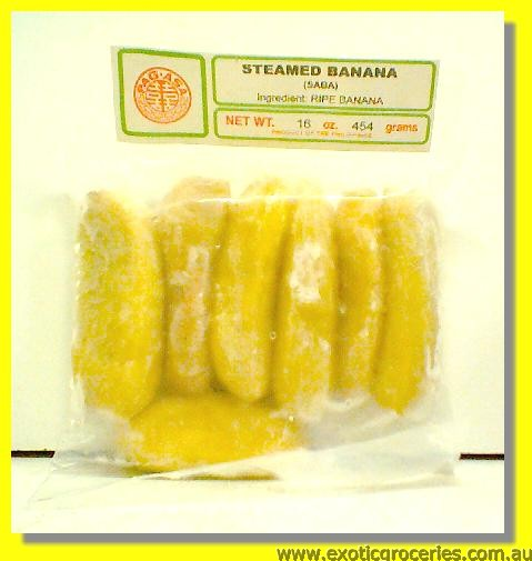 Frozen Steamed Banana