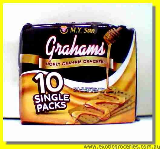 Honey Grahams Crackers 10packs