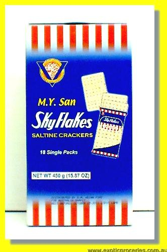 Sky Flakes Saltine Crackers 18 Single Packs