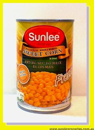 Premium Whole Kernel Sweet Corn in Brine
