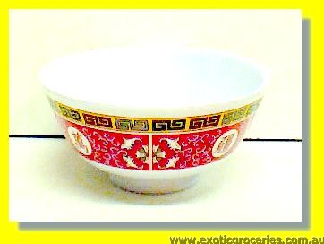 Melamine Red Bowl 3006