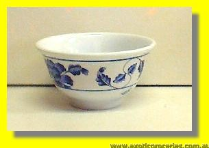 "Blue Melamine Bowl Small 3.75"" 3008TB"