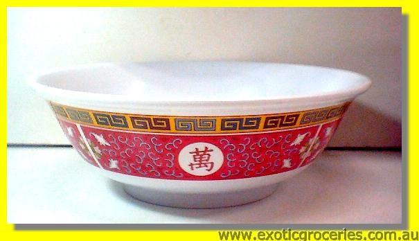 Red Melamine Bowl 10.75inch  5095
