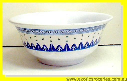 Blue Melamine Bowl Rice Pattern 5265TM
