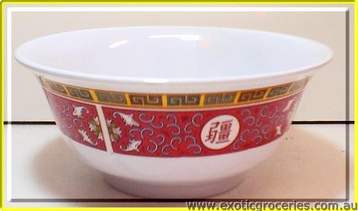 Red Melamine Bowl 6.25in 5265TR