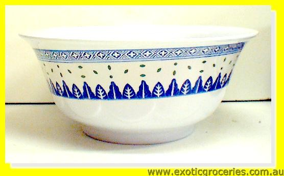 Blue Melamine Bowl Rice Pattern 5285TM