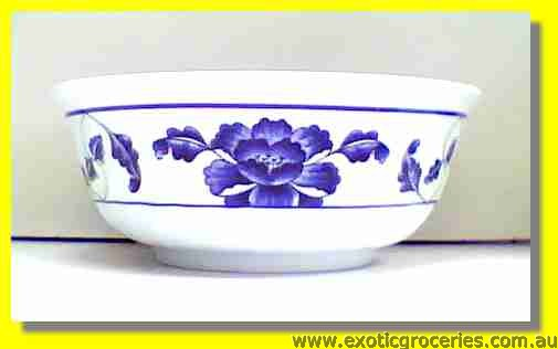 "Blue Melamine Bowl 6.75"" 5307TB"