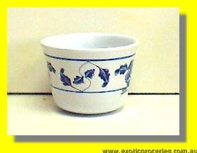 "Blue Melamine Tea Cup 3"" 9152TB"
