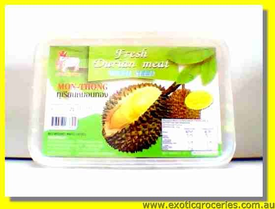 Frozen Durian Meat with Seed