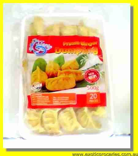 Frozen Prawn Ginger Dumpling 20pcs
