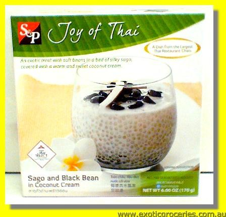 Sago & Black Bean in Coconut Cream