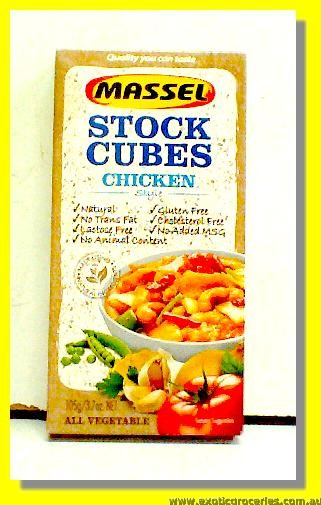 Gluten Free Chicken Stock Cubes 10pcs