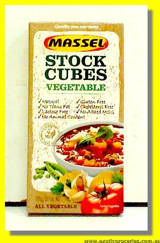 Gluten Free Vegetable Stock Cubes 10pcs
