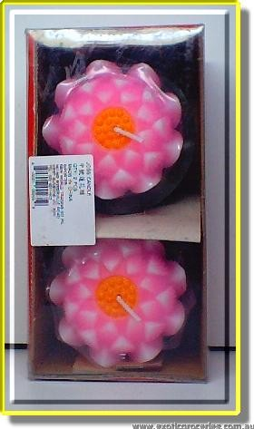 Lotus Flower Joss Candle M