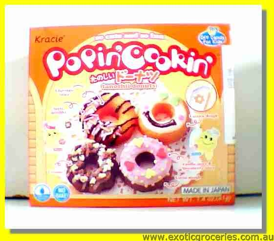 Popin' Cookin' Tanoshii Donuts Candy