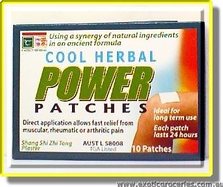Cool Herbal Powder Patches