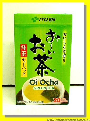 Japanese Green Tea Bags 20pcs (Oi Ocha)