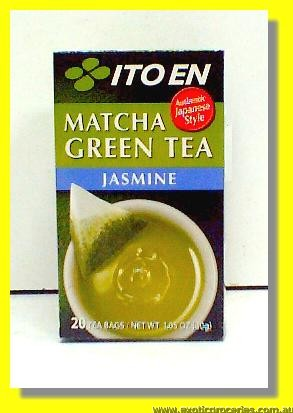 Matcha Green Tea Jasmine 20teabags