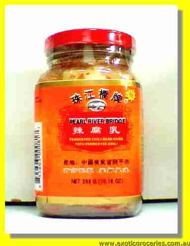 Fermented Chili Bean Curd