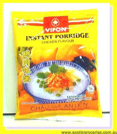 Instant Porridge Chicken Flavour